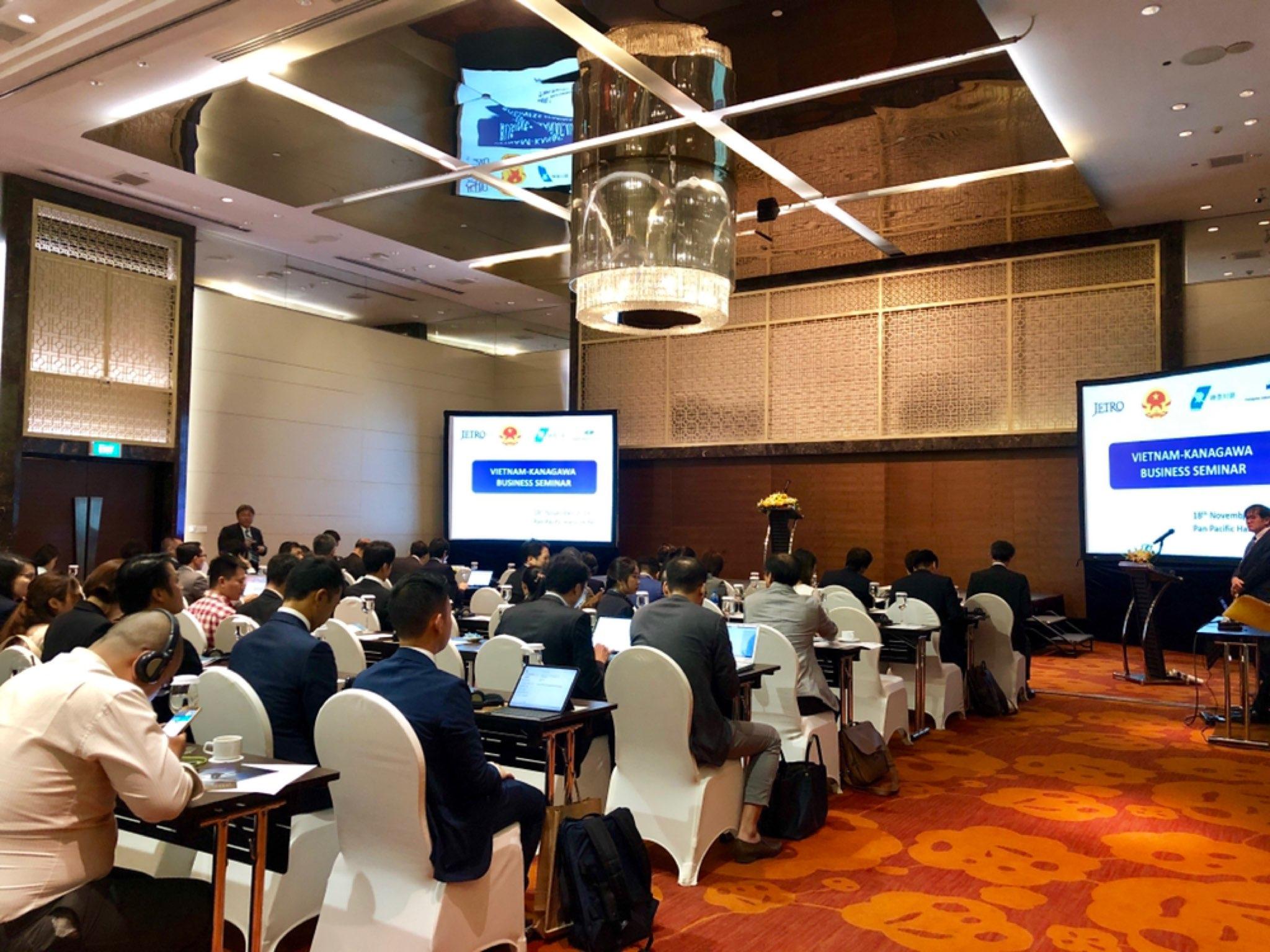 CMC representative attends Vietnam – Kanagawa Seminar 2019
