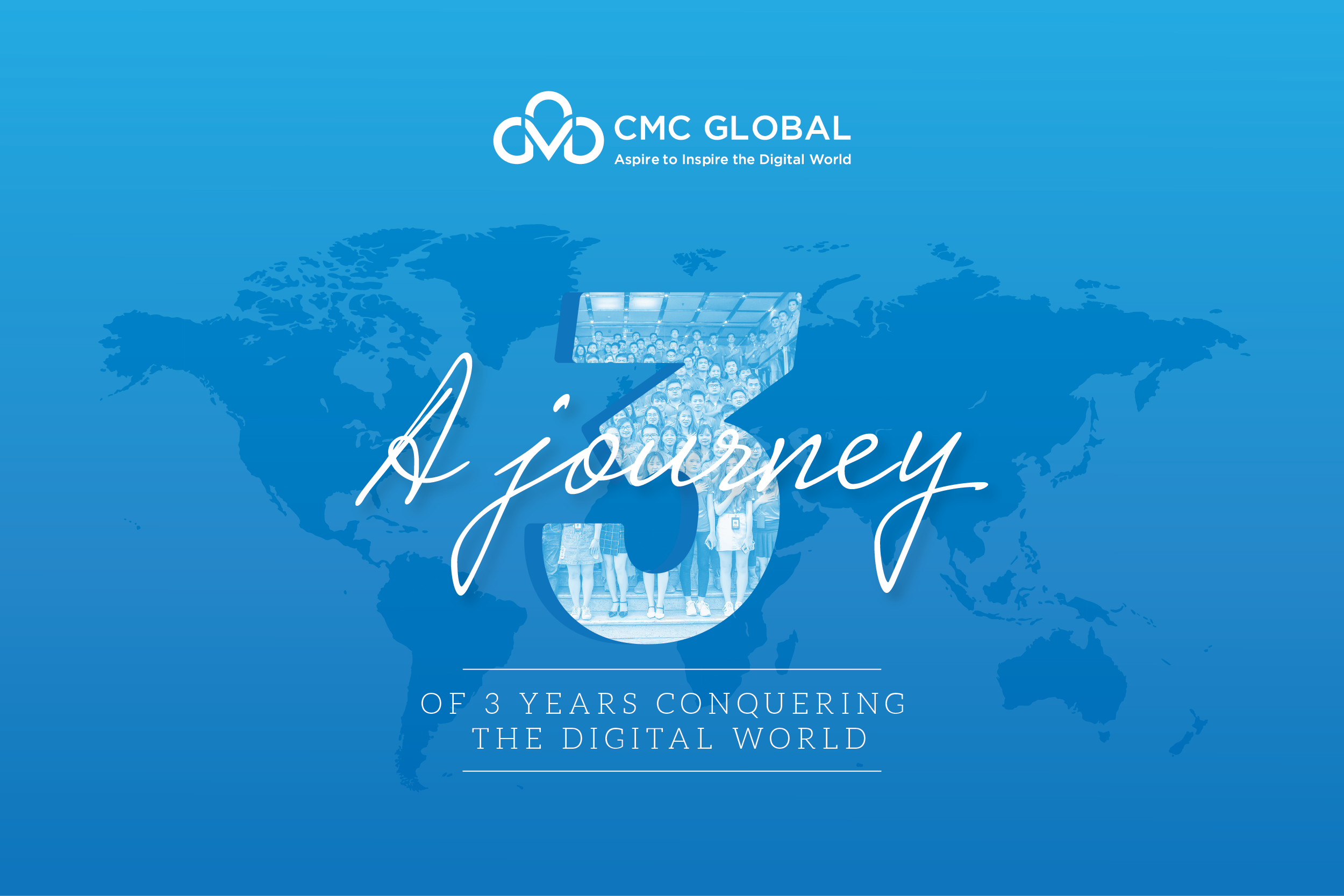 CMC Global celebrates 3 years anniversary