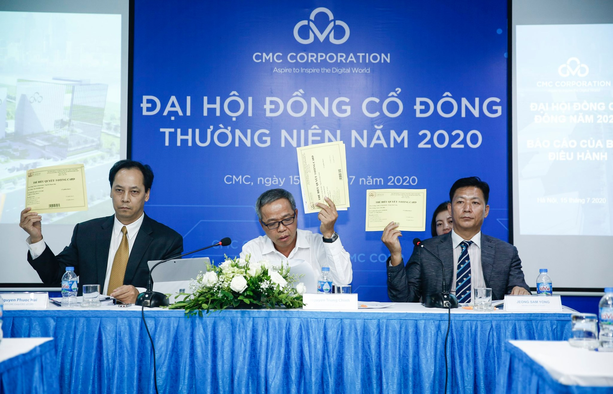2020 Annual Shareholders General Meeting of  CMC emphasized International Business for future growth