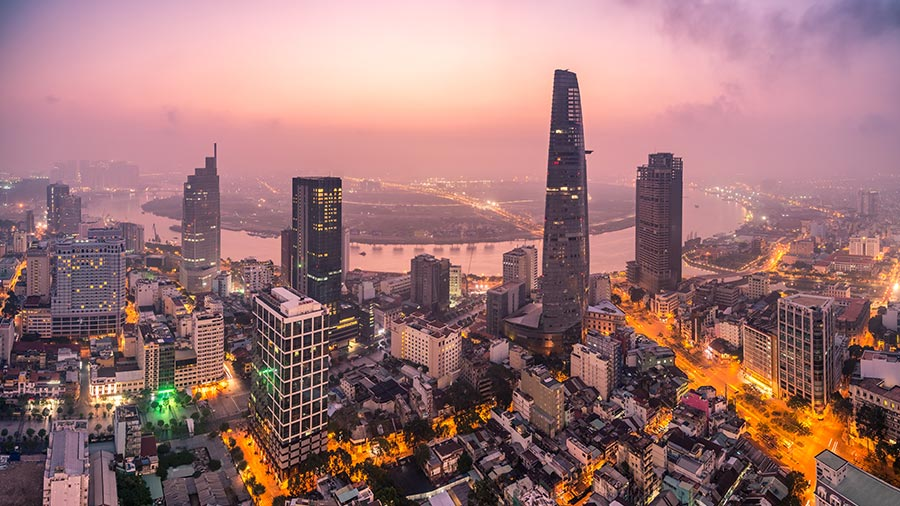 Ho Chi Minh City is a rising technology hub in Asia