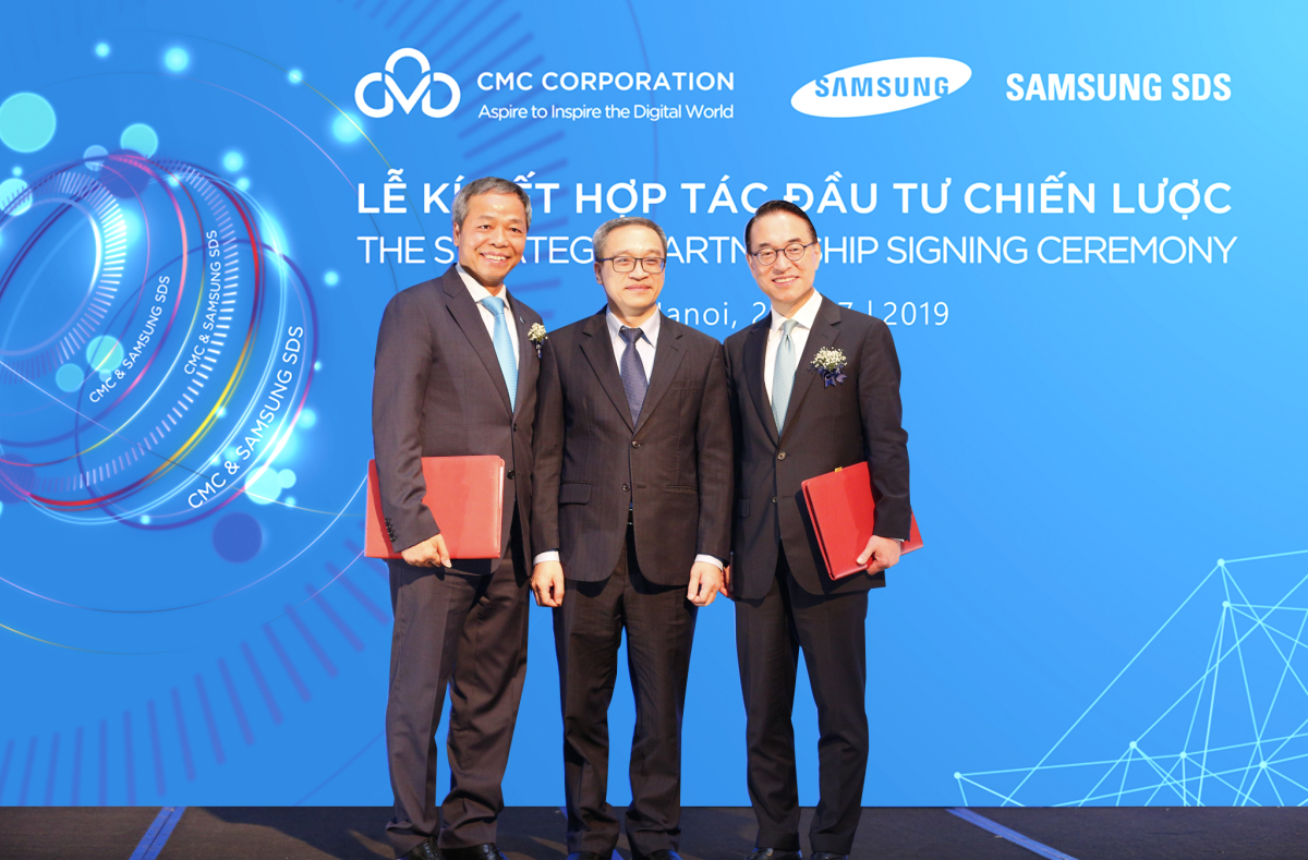 strategic partnership for software development trends, CMC Corporation signs strategic agreement with Samsung SDS