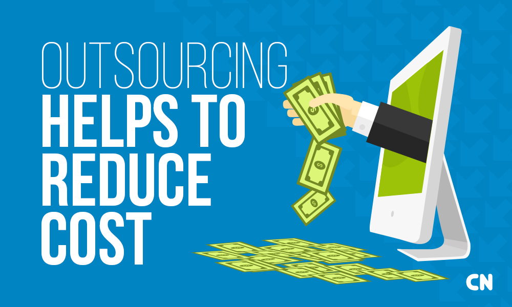 application outsourcing in it reduce business cost