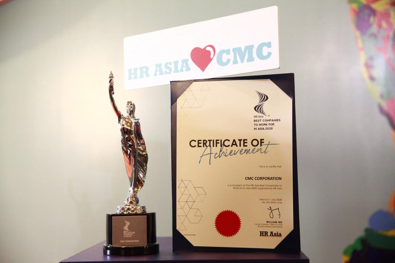 CMC receives the awards on its first-time participation