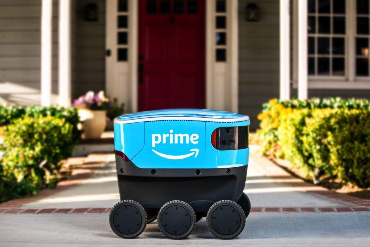 Amazon delivery robots are officially on the streets of California ...